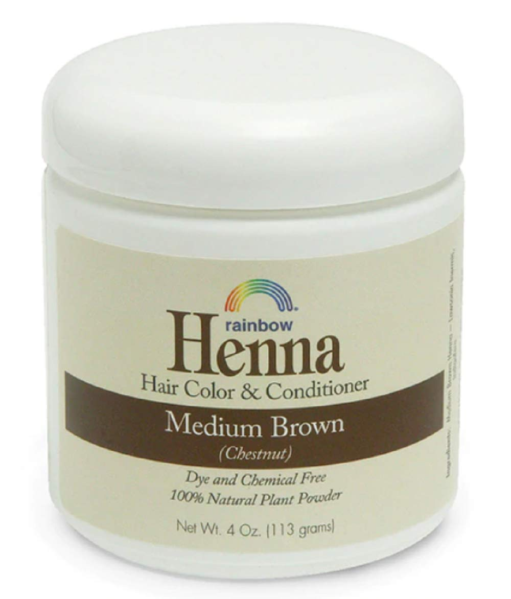 Rainbow Research Persian Medium Brown Henna, 4 Ounce - 6 per case. by Rainbow Research