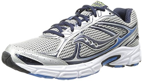 Saucony-Men-Cohesion-7-SilverNavyRoyal-Athletic-Running-Shoe-95-M-US