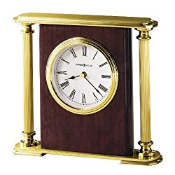 Howard Miller 645-104 Rosewood Encore Bracket Table Clock by by Howard Miller