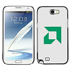 // PHONE CASE GIFT // Duro Estuche protector PC Cáscara Plástico Carcasa Funda Hard Protective Case for Samsung Note 2 N7100 / AMD /