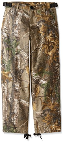 Scent Blocker Youth Pant, Real Tree Xtra, Large