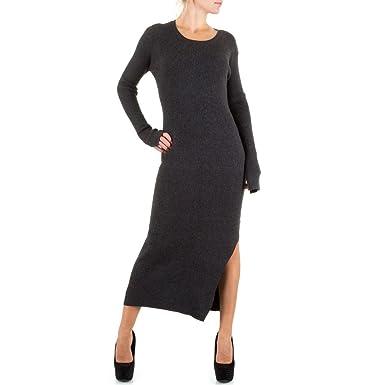 Rippstrick Damen 27311 Design KleidElastisches KleidKL Ital qSUMVzGp