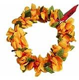 The Orange Hawaii Elastic Headband