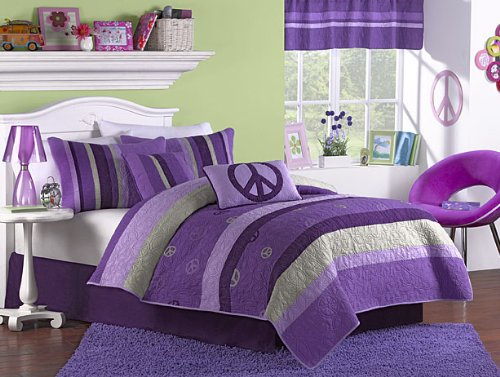 Casual Living Bedding (Casual Living Retreat Peace Cotton Quilt Set, Twin,)