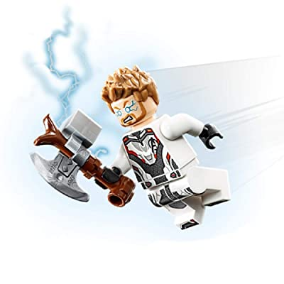 LEGO Avengers Endgame Minifigure - Thor with Stormbreaker (76126): Toys & Games