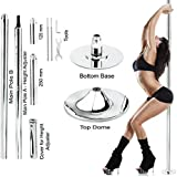 New Pro Portable Stripper Fitness Exercise Spin Spinning Professional Dance Dancing Strip Spinning Pole 45mm up to 9FT Height