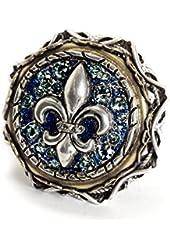 Sweet Romance French Quarter Fleur De Lis Ring