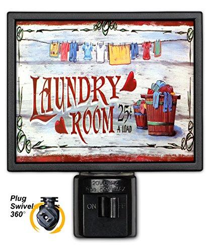 Laundry Room - Night Light
