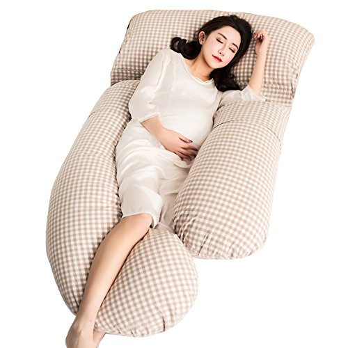 Pregnant pillow with pillow top sleeping pillow / side u u pillow / multi-functional pillow / pregnancy supplies sleep pillow pillow / ( Color : B ) by Pregnant women pillow