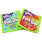 Wonka Lik-m-aid Fun Dip, 0.5-Ounce Packages (Pack of 96)