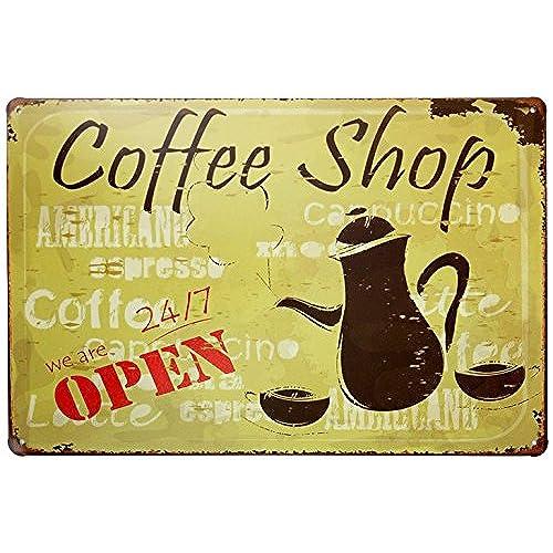 Coffee Shop Decor: Amazon.com