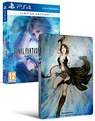PS4 - Final Fantasy X/X-2 HD Remaster - Limited Edition [PAL ITA] (Final Fantasy X And X2 Ps4 Limited Edition)