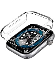 Spigen Compatible for Apple Watch Series 6/SE/5/4 Case Thin Fit - Crystal Clear