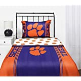 Amazon Com Clemson Tigers Ncaa Twin Comforter Sheets