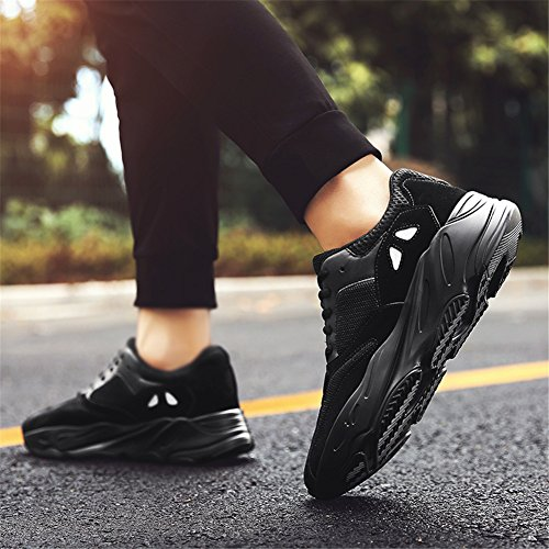Confort à Plein Course Lune Baskets Sport en Tulle Chaussures Gris Air Hommes Printemps Coussin Chaussures Chaussures Pied pour C Air Noir Automne Blanc D'été aYxwqO