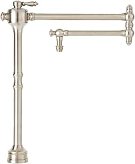 product image for Waterstone 3300-SN Towson Deck Mounted Pot Filler Faucet, Satin Nickel