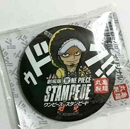 One Piece Stampede Can Badge Button Trafalgar Law Marukame Eiichiro Oda F//S