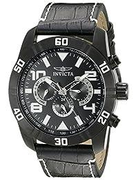 Invicta Men's 21474 Pro Diver Analog Display Swiss Quartz Black Watch