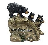 TIAAN Family Bears with Love Rock