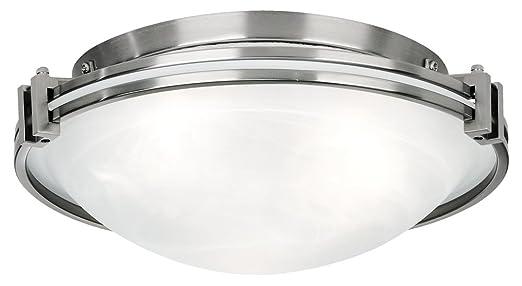 Possini Euro Design Nickel 16 3 4quot Wide Ceiling Fixture