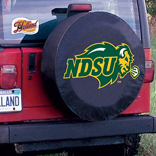 State Tire Cover (Holland Bar Stool Co. 32 1/4 x 12 North Dakota State Tire Cover)