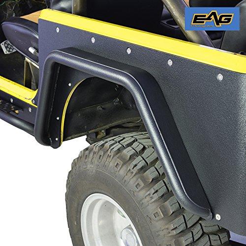 EAG 97-06 Jeep Wrangler TJ Rear Fender Flares for Corner Guards Off Road Armor 3
