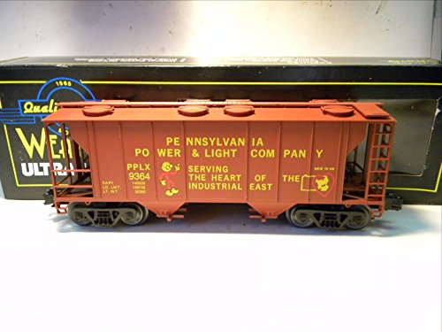 ania Power & Light PS-2 2 Bay Covered Hopper O Gauge ()