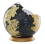 4D Cityscape Game of Thrones 3D Globe Puzzle (540 Piece), 9""