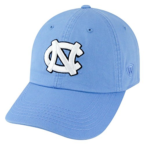 Top of the World NCAA-Cotton Crew-City-Adjustable Strapback-Hat Cap-North Carolina Tar Heels-Carolina (University North Carolina Tar Heels Basketball)