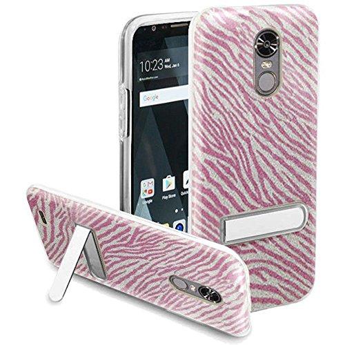 Clear Hot Pink Zebra - 8