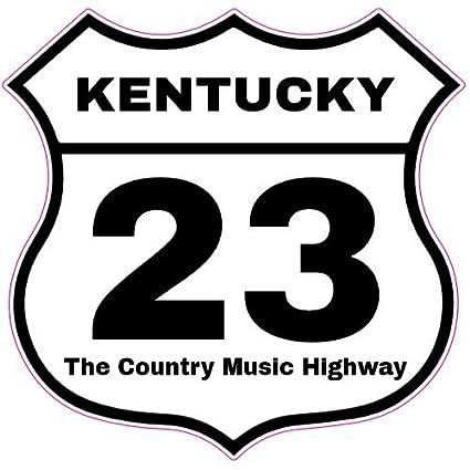 Amazon Us Custom Stickers Kentucky 23 Country Music Highway