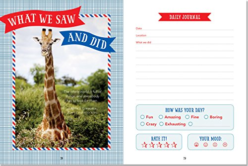 Kids' Travel Journal (Interactive Diary, Notebook) by Peter Pauper Press (Image #2)