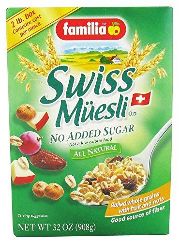 Familia - Swiss Muesli All Natural No Added Sugar - 32 oz.