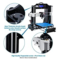 ALUNAR 3D Printer DIY Prusa I3 Kit Self Assembly Mini DIY Desktop FDM 3D Printing Machine with 1.75mm PLA Filament from Alunar Direct