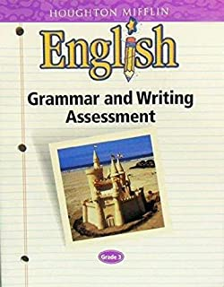 Amazon houghton mifflin english workbook plus grade 2 houghton mifflin english grammar and writing assessment grade 3 fandeluxe Gallery
