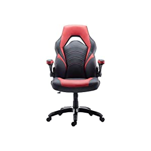 Staples 2710774 Gaming Chair Black and Red