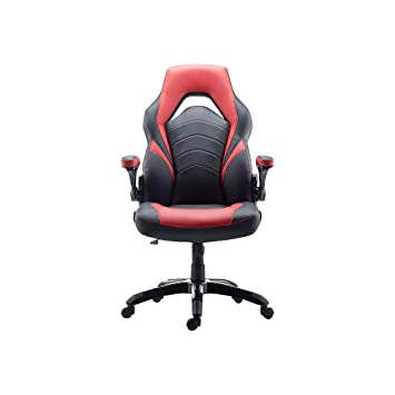 Excellent Amazon Com Staples 2710774 Gaming Chair Black And Red Machost Co Dining Chair Design Ideas Machostcouk