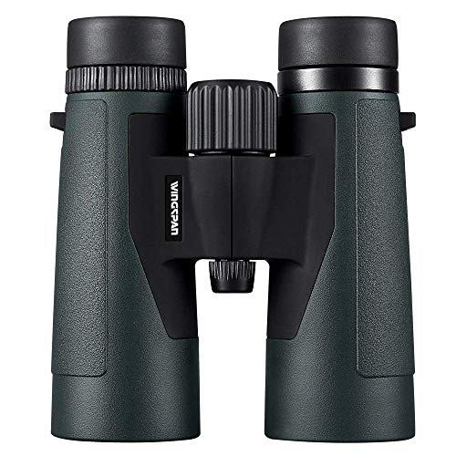 Wingspan Optics EagleScout 10X42 High Powered Binoculars for Bird Watching. Bright and Clear Views for Hours of Bird Watching, Hiking and Exploring. Waterproof. Fog Proof. Formerly Polaris Optics