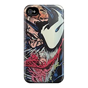 Bumper Hard Phone Cover For Iphone 6 (IxH10480pTlJ) Customized Nice Venom Pattern
