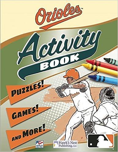 Orioles Activity Book