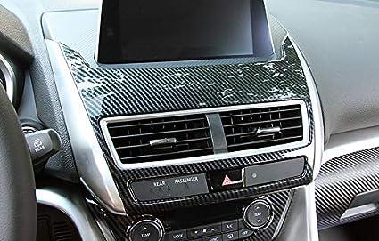 High Flying Für Eclipse Cross 2018 2021 Kohlefaserfarbe Interieur Mittelkonsole Dekor 1 Stück Abs Kunststoff Auto