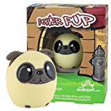 My Audio Pet Mini Bluetooth Animal Wireless Speaker with TRUE WIRELESS STEREO TECHNOLOGY – Pair with another TWS Pet for Powerful Rich Room-filling Sound – (Power Pup)