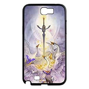 JamesBagg Phone case sword art pattern protective case For Samsung Galaxy Note 2 Case FHYY483604