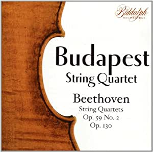 Budapest String Quartet Plays Beethoven