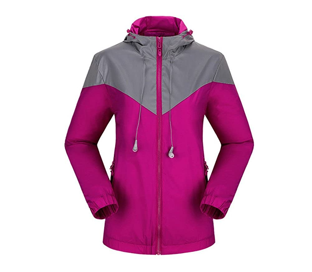 Running Cycling Outdoor Reflective Jacket for Women with Washable Earphone