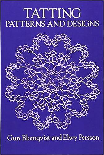 amazon tatting patterns and designs dover knitting crochet