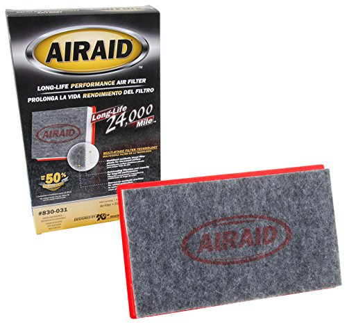 AIRAID 830-031: The Extended Life, Disposable Engine Air Filter for Your 1990-2016 Infiniti; Nissan; Subaru - Lasts Longer Than Your Paper Filter!