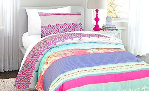 - Heritage Kids Purple Garden Camo Twin Comforter Set, 2 Piece