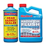 BlueDevil 32oz Head Gasket Sealer w/Radiator Flush by BlueDevil Products