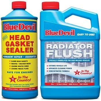 Amazoncom Bluedevil 32oz Head Gasket Sealer Wradiator Flush